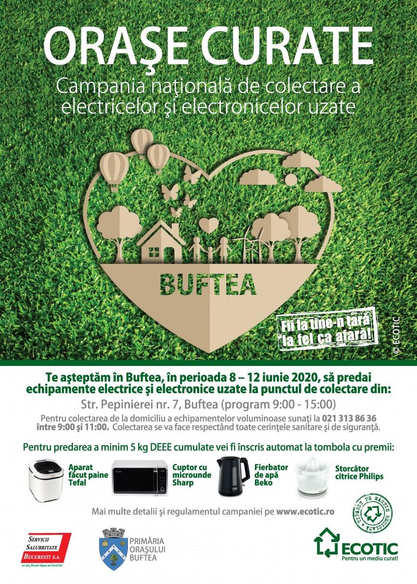 Orase Curate - Campania nationala de colectare a electricelor si electronicelor uzate